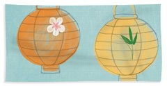 Joy Lanterns Beach Towel