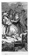 Juvenile Crime, 1868 Beach Towel