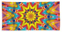 Kaleidoscope Series Number 7 Beach Towel