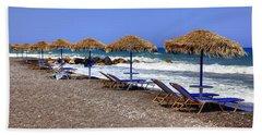 Kamari - Santorini Beach Towel