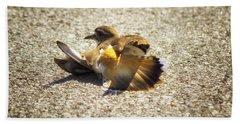 Killdeer Broken Wing Act Beach Towel
