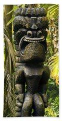 Ku - God Of War Beach Towel by Patricia Griffin Brett
