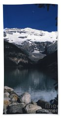 Beach Sheet featuring the photograph Lake Louise II by Sharon Elliott