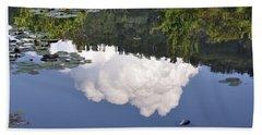Beach Sheet featuring the photograph Lake Reflection by Kay Lovingood