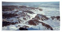 Beach Towel featuring the photograph Lava Rock 90 Mile Beach by Mark Dodd