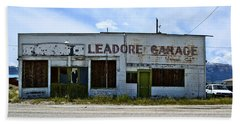 Leadore Garage Beach Sheet