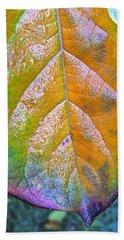 Leaf Beach Sheet by Bill Owen
