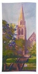 Leckie Memorial  Church  Peebles Scotland Beach Towel