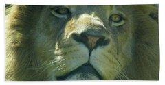 Leo,lion Beach Towel
