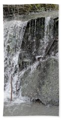 Beach Towel featuring the photograph Let It Flow by Tiffany Erdman