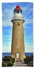 Light House At Cape Du Couedic Beach Towel