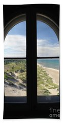 Lighthouse Window Beach Towel