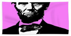 Beach Towel featuring the digital art Lincoln by George Pedro