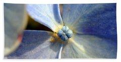 Beach Sheet featuring the photograph Little Blue Flower by Kay Lovingood