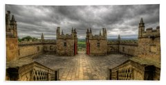 Little Castle Entrance - Bolsover Castle Beach Towel