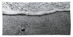 Lonely Pebble Beach Towel