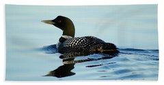 Loon Beach Sheet by Steven Clipperton