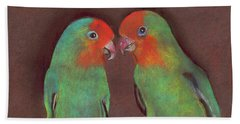 Lovebirds Beach Sheet