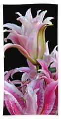 Luscious Lilies Beach Sheet