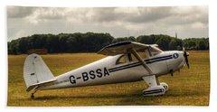 Luscombe 8e Deluxe 2 Seater Plane Beach Sheet