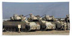 M2m3 Bradley Fighting Vehicle Beach Towel