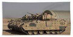 M2m3 Bradley Fighting Vehicles Beach Towel