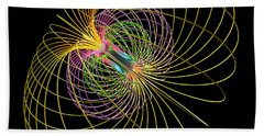 Magnetism 2 Beach Towel