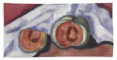Melons Beach Sheet by Marsden Hartley