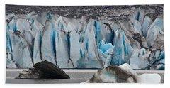 Mendenhall Glacier Juneau Alaska 1698 Beach Towel