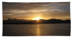 Beach Sheet featuring the photograph Mexican Sunset by Marilyn Wilson