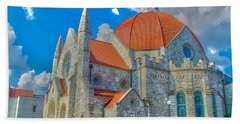 Montgomery Baptist Church Hdr Beach Towel by Shannon Harrington