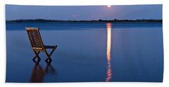 Moon View Beach Towel