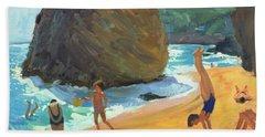 Morning Platja Dos Rosais Costa Brava Beach Towel