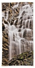 Beach Towel featuring the photograph Morrell Falls 1 by Janie Johnson