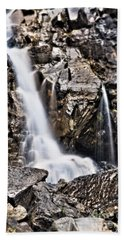 Beach Towel featuring the photograph Morrell Falls 2 by Janie Johnson
