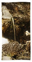 Beach Towel featuring the photograph Morrell Falls 3 by Janie Johnson