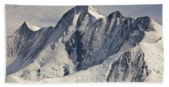 Mount Herschel Above Cape Hallett Beach Towel