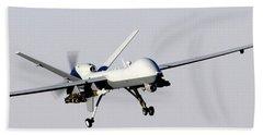 Mq-9 Reaper Prepares To Land Beach Towel