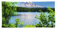 Mt Adams And Takhlakh Lake Beach Sheet
