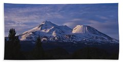 Mt Shasta Beach Towel
