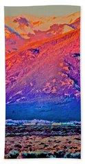 Mt Wheeler At Sunset Beach Sheet