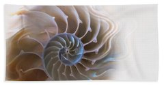 Natural Spiral Beach Towel by Danuta Bennett