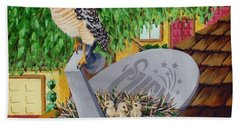Nature Channel- Red Shouldered Hawk Beach Towel