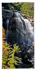 Nc Waterfalls Beach Towel