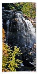 Whitewater Falls Beach Towel