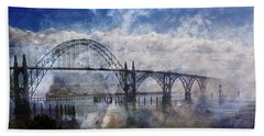 Newport Fantasy Beach Towel by Mick Anderson