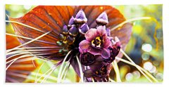 No Name Orchid Beach Towel