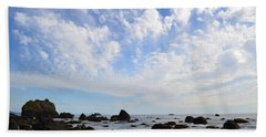 Beach Towel featuring the photograph Northern California Coast1 by Zawhaus Photography