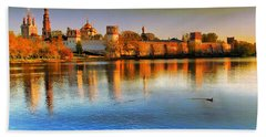 Novodevichy Convent Beach Towel
