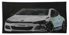 Oettinger Vw Scirocco  Beach Towel